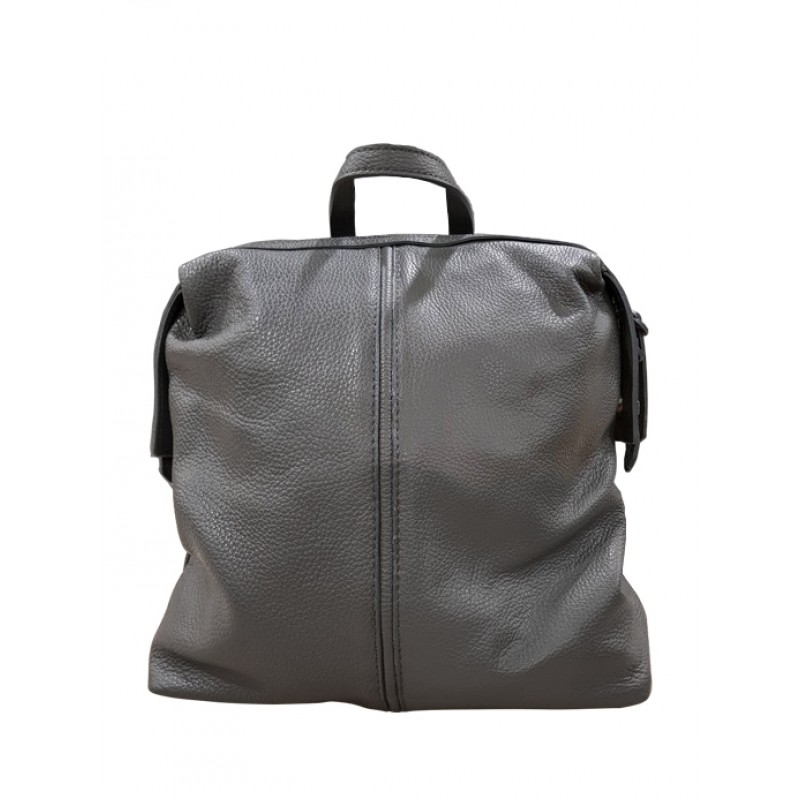 47170baeec VERA PELLE γυναικεία τσάντα πλάτης - γκρι 75656514