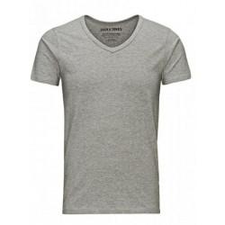 JACK   JONES μπλούζα κοντομάνικη ανδρική - γκρι 12059219 c45c51e25da