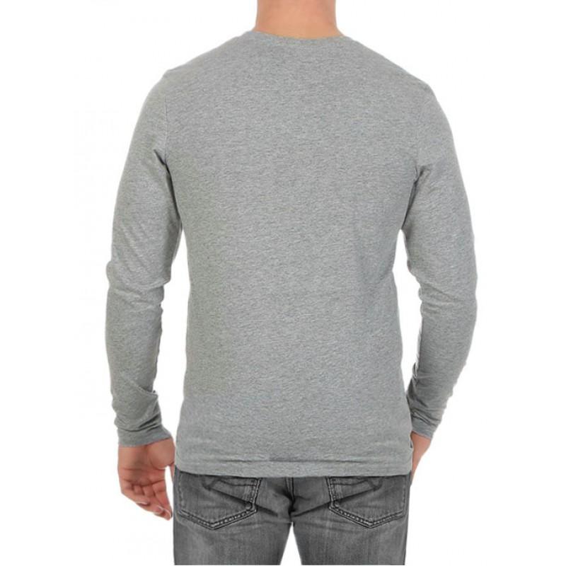 9cfb5c26d2b9 JACK   JONES μπλούζα ανδρική μακρυμάνικη - γκρι ανοιχτό 12128482