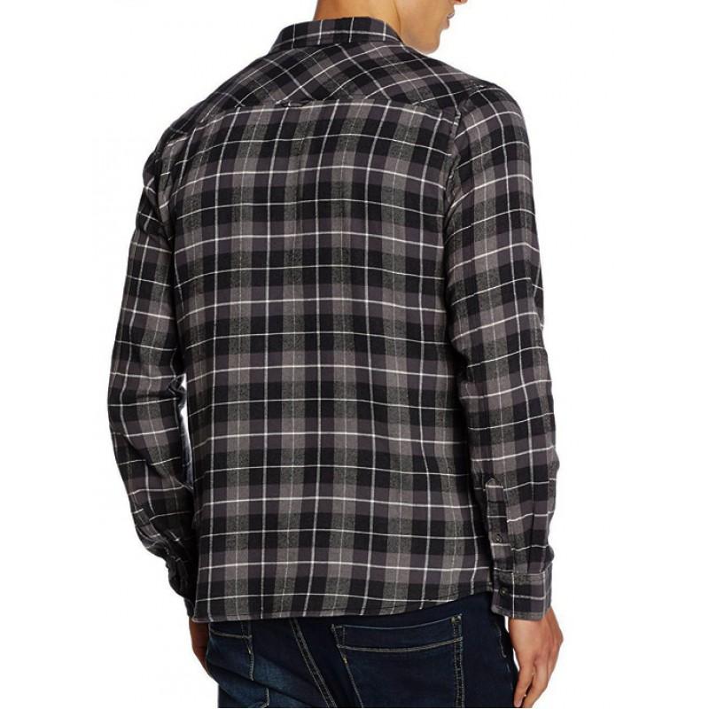 ad9ae64889a3 SUBLEVEL πουκάμισο ανδρικό-γκρι