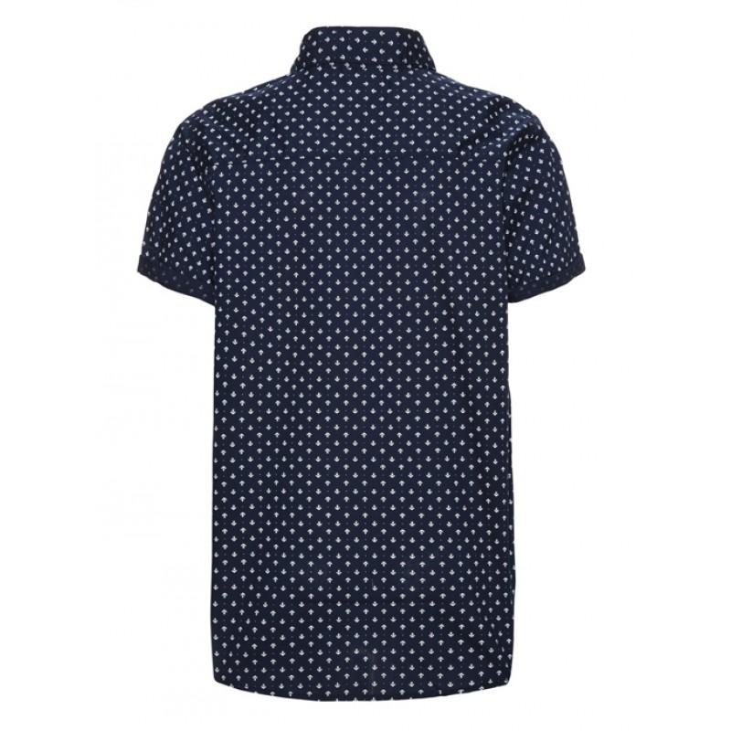 f8fe28a133fa NAME IT πουκάμισο κοντομάνικο για αγόρι- σκούρο μπλε (5-14χρ) 13138200