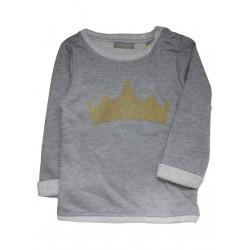 3a71cc91552 Tricky Tracks baby μπλουζάκι για κορίτσι-γκρί (9 -18μην)